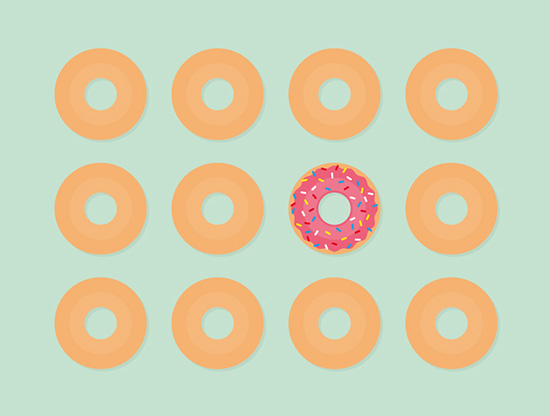 AdopteUnMec lance une campagne d'affichage sucrée et colorée