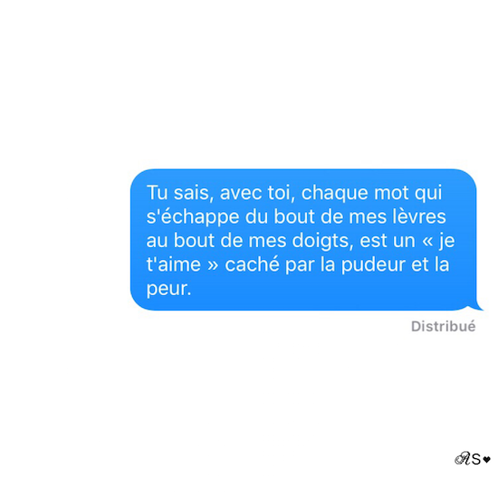 Amours solitaires 3e message