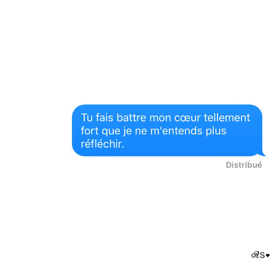 Amours solitaires 5e message