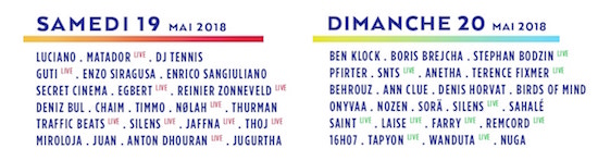 Marvellous 2018 Line Up